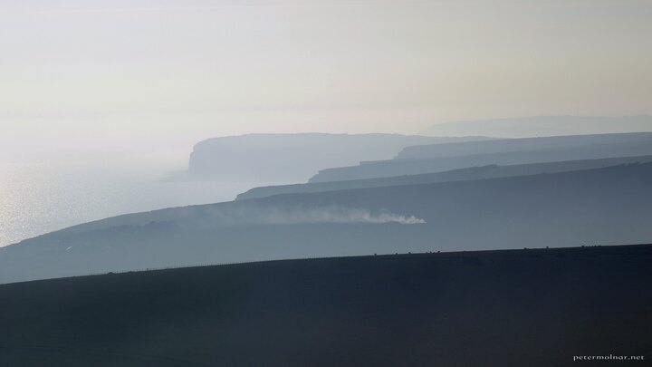 Seven Sisters from Beachy Head