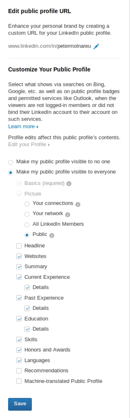 linkedin-public-profile-issues-settings