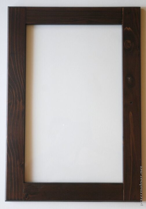IKEA window to picture frame 01