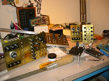 brass-synth-modules-on-work-bench