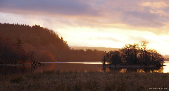 sunset-island-on-loch-awe