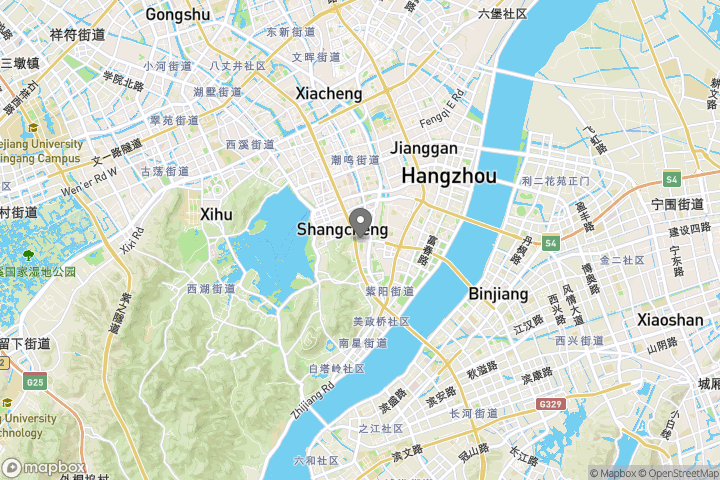 map showing the location where the photo 'Jinli Street at night 3' was taken at
